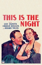 This Is the Night - Movie Poster (xs thumbnail)