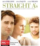 Straight A's - Australian Blu-Ray cover (xs thumbnail)