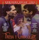 Fresa y chocolate - Argentinian DVD movie cover (xs thumbnail)