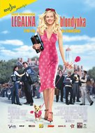 Legally Blonde - Polish Movie Poster (xs thumbnail)