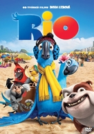 Rio - Czech DVD movie cover (xs thumbnail)