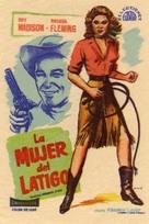 Bullwhip - Spanish Movie Poster (xs thumbnail)