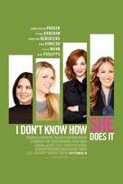 I Don't Know How She Does It - Movie Poster (xs thumbnail)