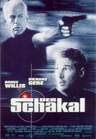 The Jackal - German Movie Poster (xs thumbnail)