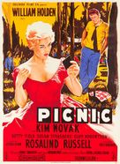 Picnic - French Movie Poster (xs thumbnail)