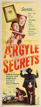 The Argyle Secrets - Movie Poster (xs thumbnail)