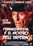 Frankenstein and the Monster from Hell - Italian DVD movie cover (xs thumbnail)
