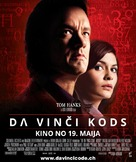 The Da Vinci Code - Latvian Movie Poster (xs thumbnail)