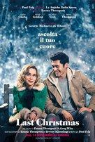 Last Christmas - Italian Movie Poster (xs thumbnail)