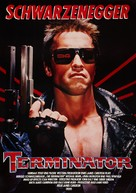 The Terminator - German Theatrical movie poster (xs thumbnail)