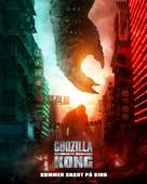 Godzilla vs. Kong - Norwegian Movie Poster (xs thumbnail)