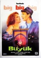 Big - Turkish Movie Poster (xs thumbnail)