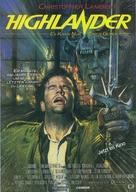 Highlander - Swiss Movie Poster (xs thumbnail)