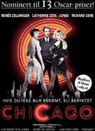Chicago - Norwegian Movie Poster (xs thumbnail)