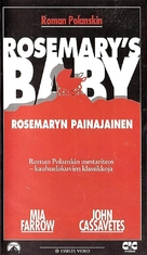 Rosemary's Baby - Finnish VHS movie cover (xs thumbnail)