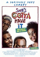 She's Gotta Have It - German Movie Poster (xs thumbnail)