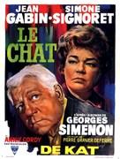 Le chat - Belgian Movie Poster (xs thumbnail)