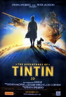 The Adventures of Tintin: The Secret of the Unicorn - Australian Movie Poster (xs thumbnail)