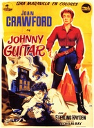 Johnny Guitar - Spanish Movie Poster (xs thumbnail)