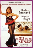 The Owl and the Pussycat - German Movie Poster (xs thumbnail)
