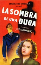 Shadow of a Doubt - Spanish Movie Poster (xs thumbnail)