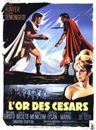 Oro per i Cesari - French Movie Poster (xs thumbnail)