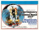 Diamonds Are Forever - British Theatrical movie poster (xs thumbnail)