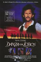 Dances with Wolves - Spanish Movie Poster (xs thumbnail)