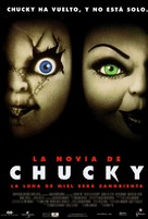 Bride of Chucky - Spanish Movie Poster (xs thumbnail)