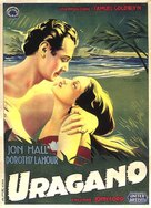 The Hurricane - Italian Movie Poster (xs thumbnail)