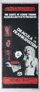 Dracula Vs. Frankenstein - Australian Movie Poster (xs thumbnail)