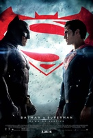 Batman v Superman: Dawn of Justice - Theatrical movie poster (xs thumbnail)