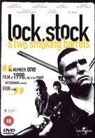 Lock Stock And Two Smoking Barrels - British DVD cover (xs thumbnail)