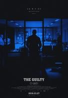 Den skyldige - South Korean Movie Poster (xs thumbnail)