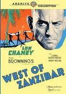 West of Zanzibar - DVD cover (xs thumbnail)