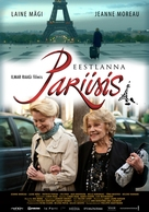 Une Estonienne à Paris - Estonian Movie Poster (xs thumbnail)
