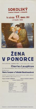 Devil and the Deep - Czech Movie Poster (xs thumbnail)