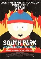 South Park: Bigger Longer & Uncut - Dutch Movie Poster (xs thumbnail)