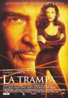 Entrapment - Spanish poster (xs thumbnail)