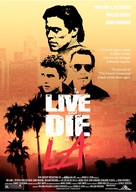 To Live and Die in L.A. - Movie Poster (xs thumbnail)