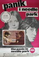 The Panic in Needle Park - Swedish Movie Poster (xs thumbnail)
