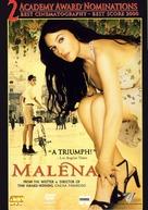Malèna - Greek DVD movie cover (xs thumbnail)