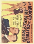 Abbott and Costello in Hollywood - poster (xs thumbnail)