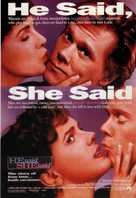 He Said, She Said - Movie Poster (xs thumbnail)