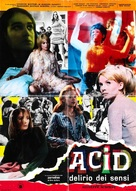 Acid - delirio dei sensi - Italian Movie Poster (xs thumbnail)