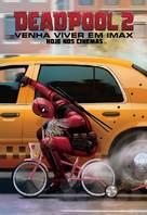 Deadpool 2 - Brazilian Movie Poster (xs thumbnail)