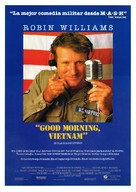 Good Morning, Vietnam - Spanish Movie Poster (xs thumbnail)