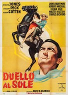 Duel in the Sun - Italian Re-release movie poster (xs thumbnail)