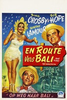 Road to Bali - Belgian Movie Poster (xs thumbnail)
