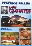 Clowns, I - Spanish Movie Cover (xs thumbnail)